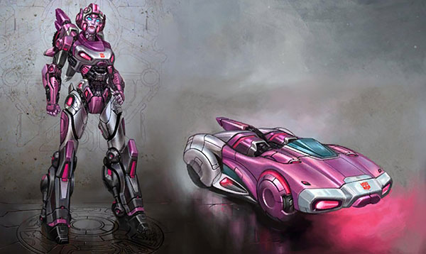 image of Female Autobot Arcee