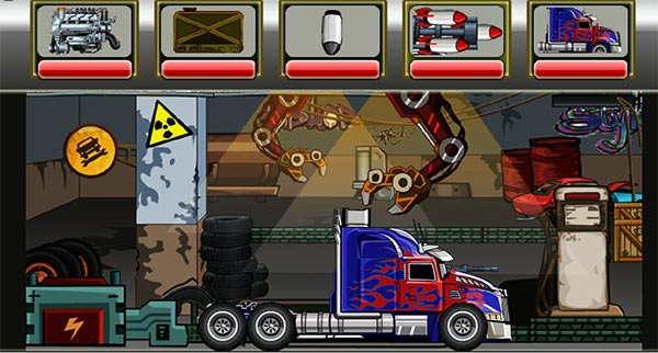 Optimus Prime breakout: workshop