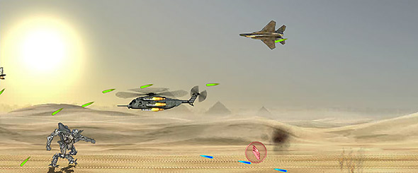 image of Starscream Showdown gameplay