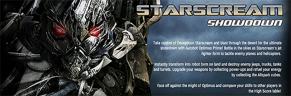 image of Starscream Showdown
