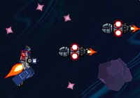 transformers space war invaders