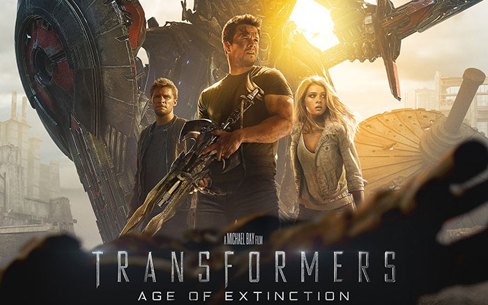 image of Transformers Age Of Extinction poster